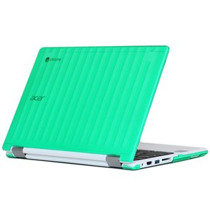"""mCover Green Hard Shell Case for 11.6"""" Acer Chromebook R11 CB5-132T / C738T series (NOT compatible with Acer C720/C730/C740/CB3-111/CB3-131 series) Convertible Laptop (Model: R11 CB5-132T / C738T)"""