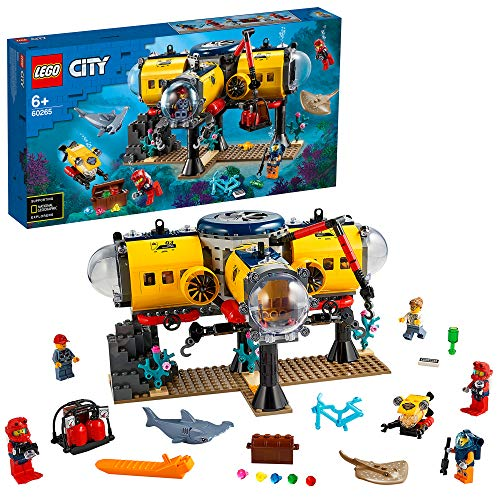 LEGO 60265 City Ocean Exploration Base Deep Sea Underwater Set
