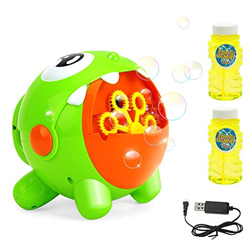 EXTSUD Automatic Bubble Machines for Kids