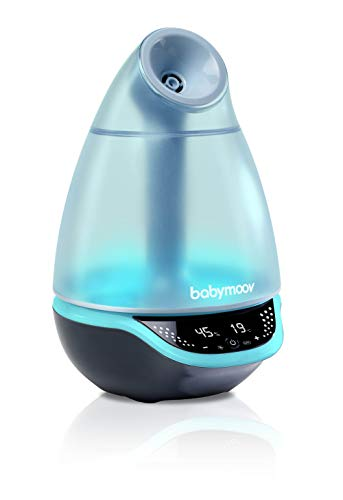 Babymoov Hygro Plus Ultrasonic Cool Mist Humidifier with Programmable Humidity Control