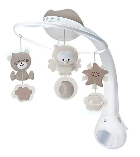 Infantino 3 in 1 Projector Musical Mobile - Convertible mobile
