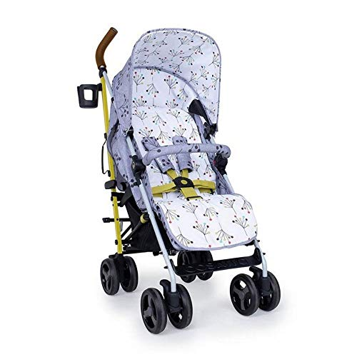 Cosatto Supa 3 Pushchair – Lightweight Stroller from Birth to 25kg - Compact Fold