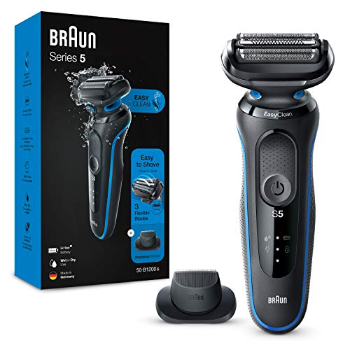 Braun Series 5 Electric Shaver for Men with Precision Beard Trimmer