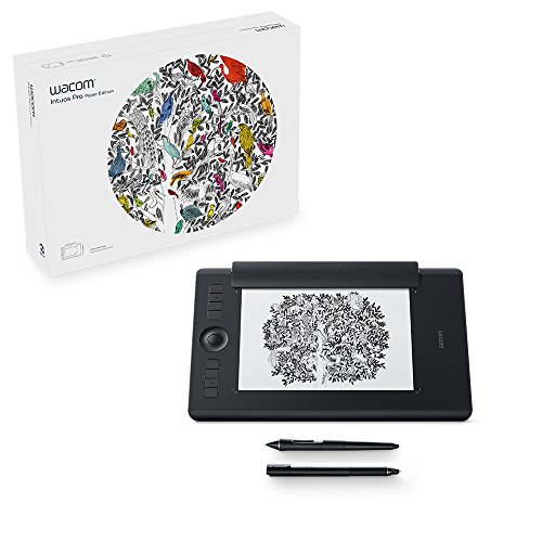 Wacom Intuos Pro Paper Edition Pen Tablet (Size: M) / Medium Professional Graphic Tablet incl. Paper Clip