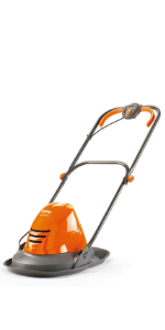 Flymo Turbo Lite 250 Electric Hover Lawnmower, 1400W, Cutting Width 25cm